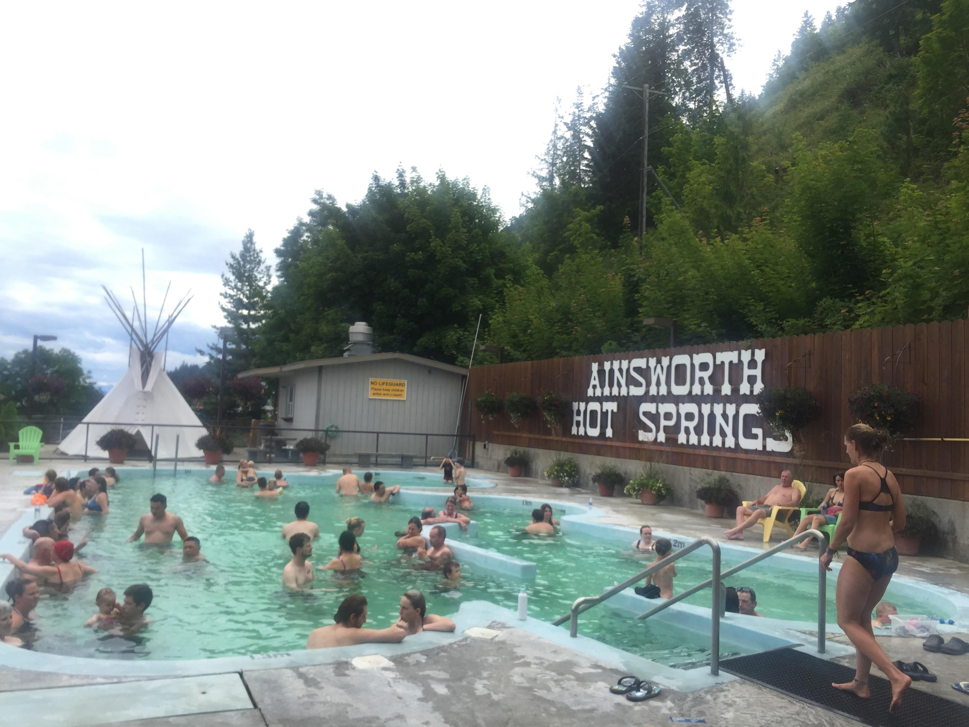 Ainsworth Hot Springs Caves Resort More Than A Handbag